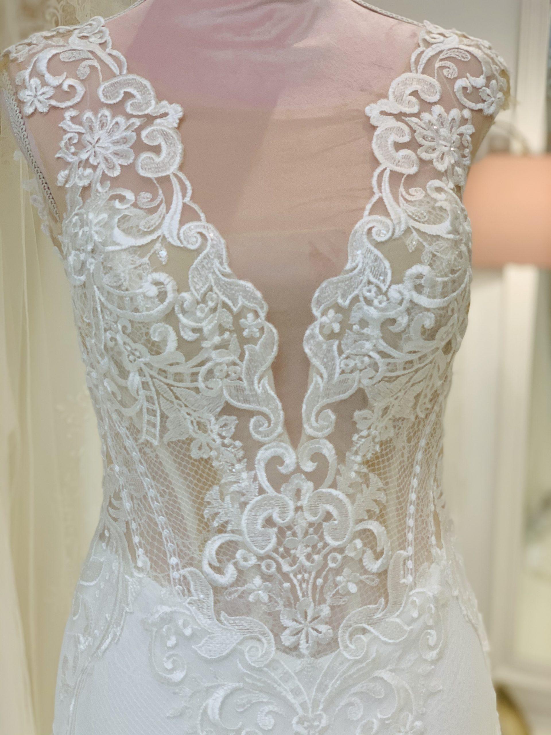 Brautkleid 1 - Oberteil