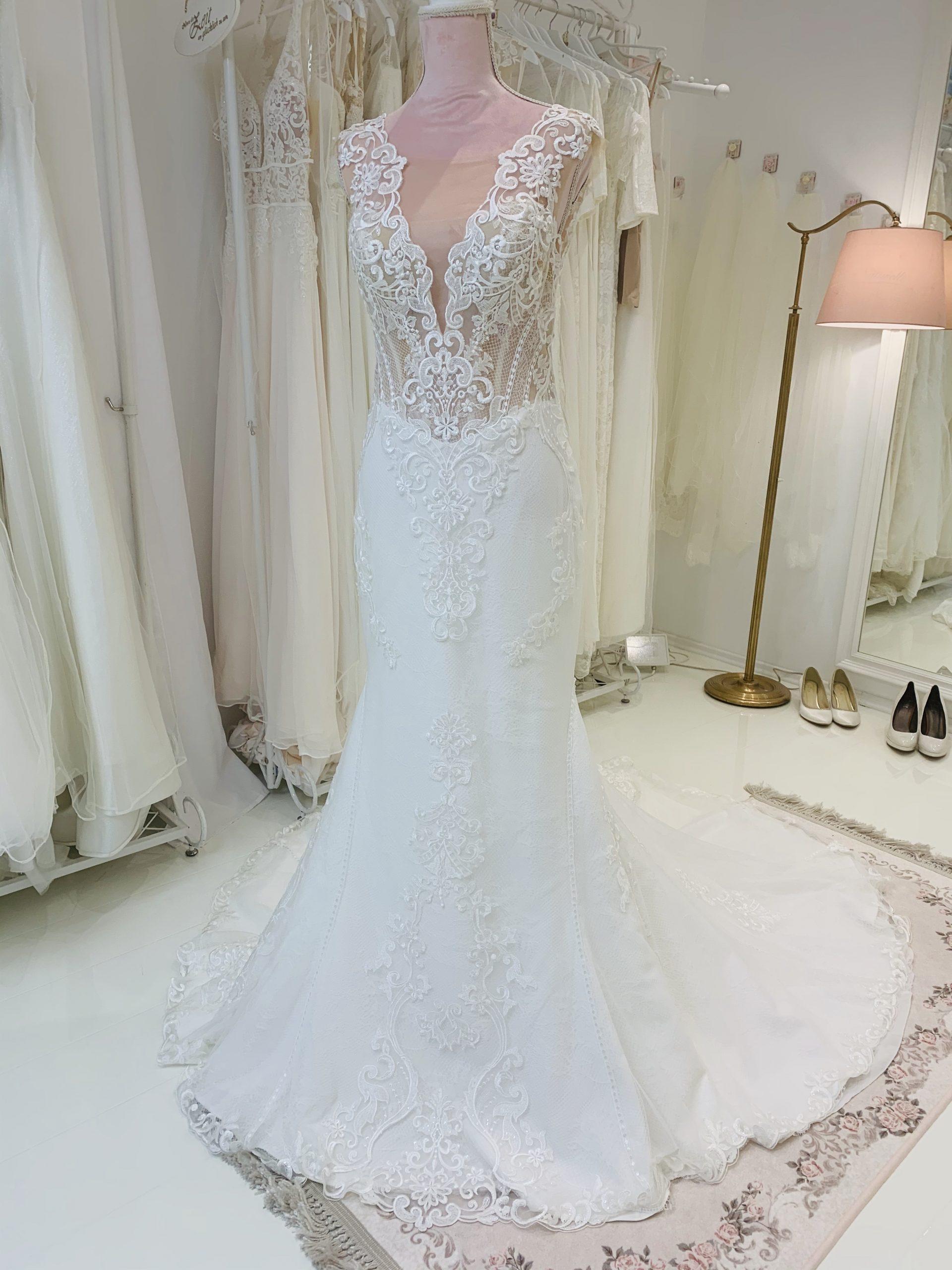 Brautkleid 1 - Vollansicht