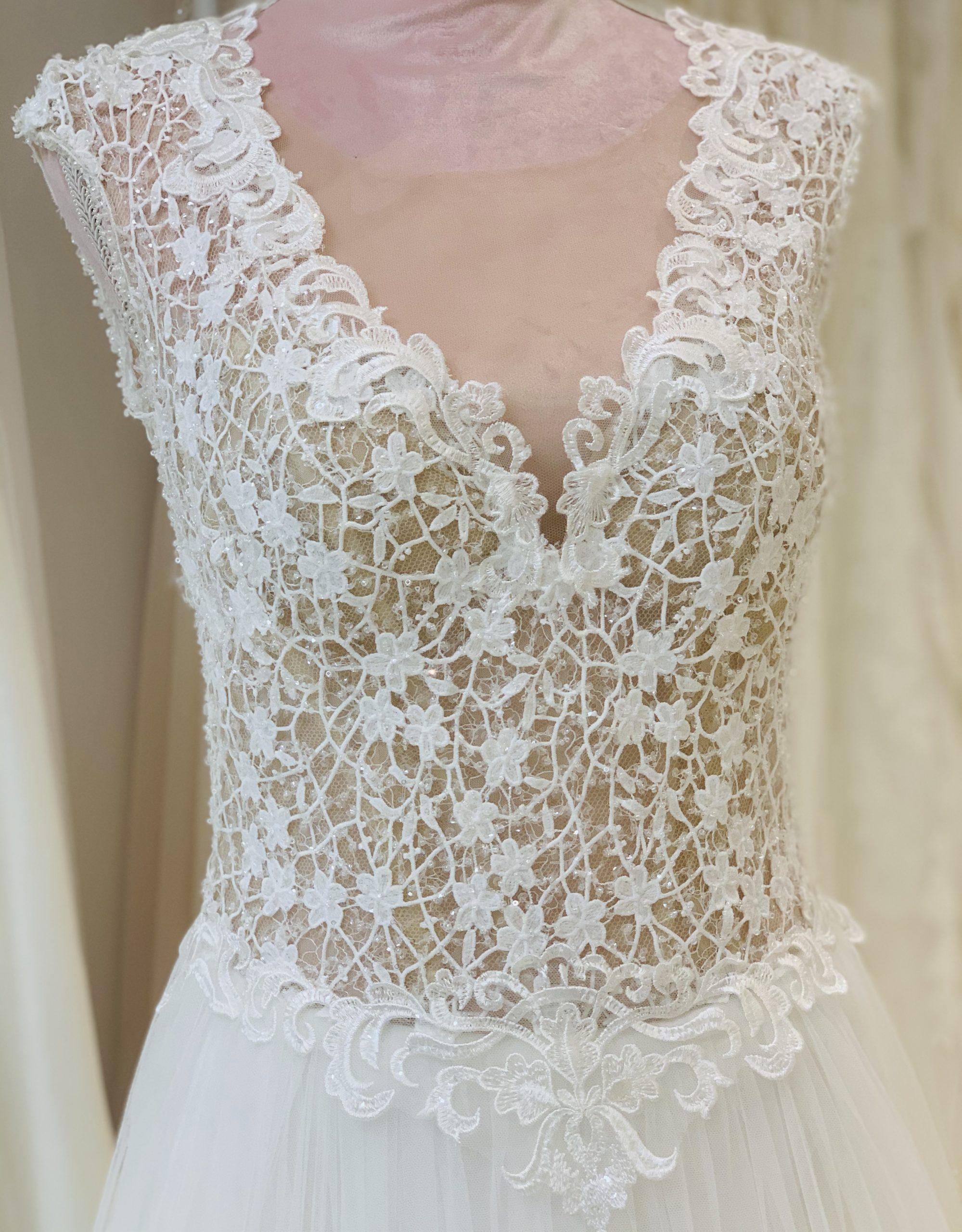 Brautkleid 10 - Oberteil
