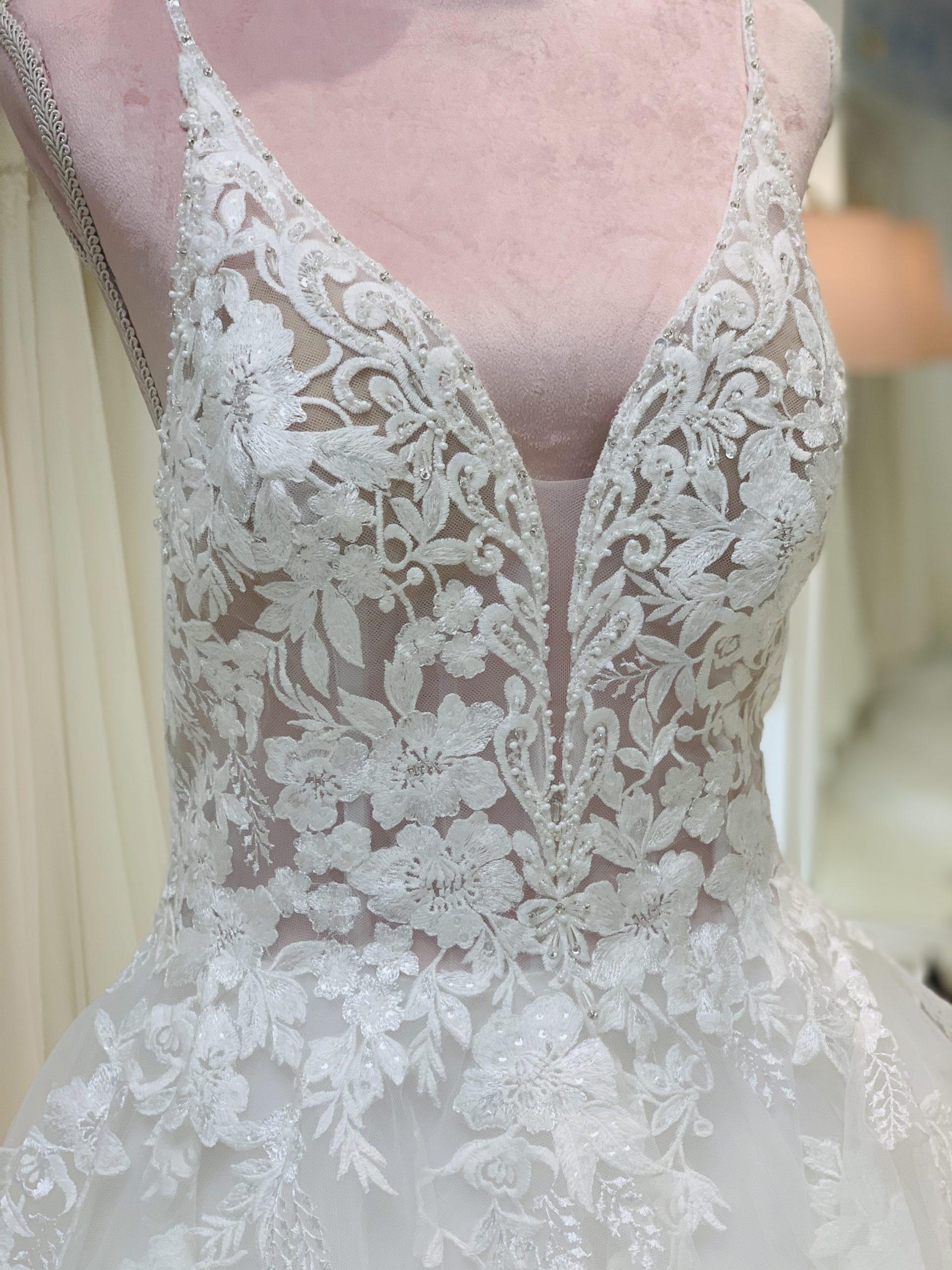 Brautkleid 12 - Oberteil