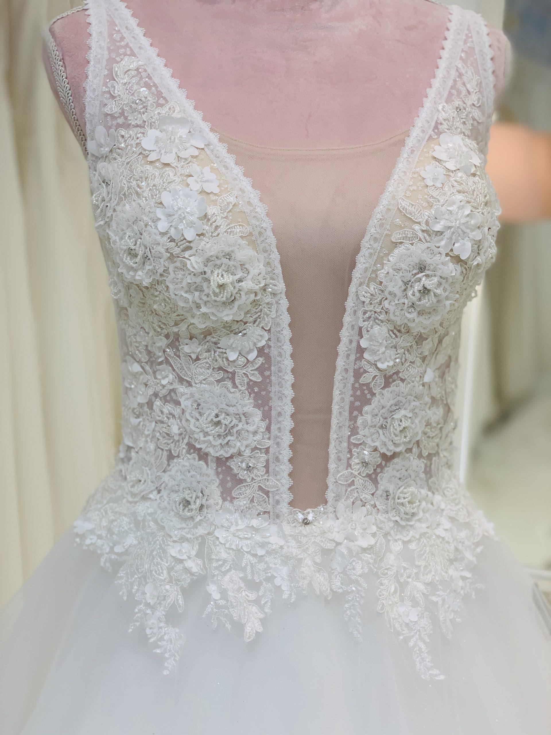 Brautkleid 14 - Oberteil
