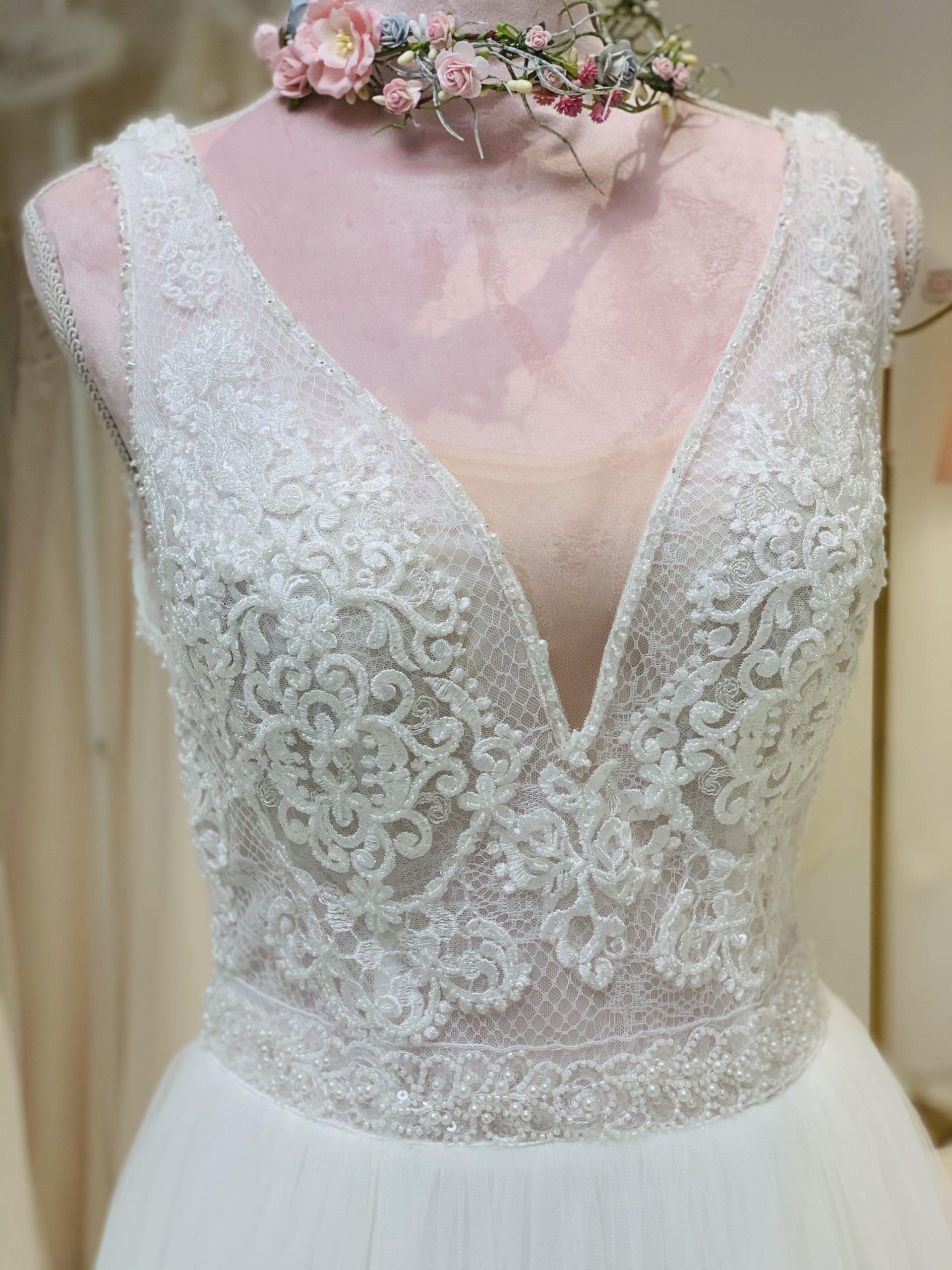 Brautkleid 19 - Oberteil