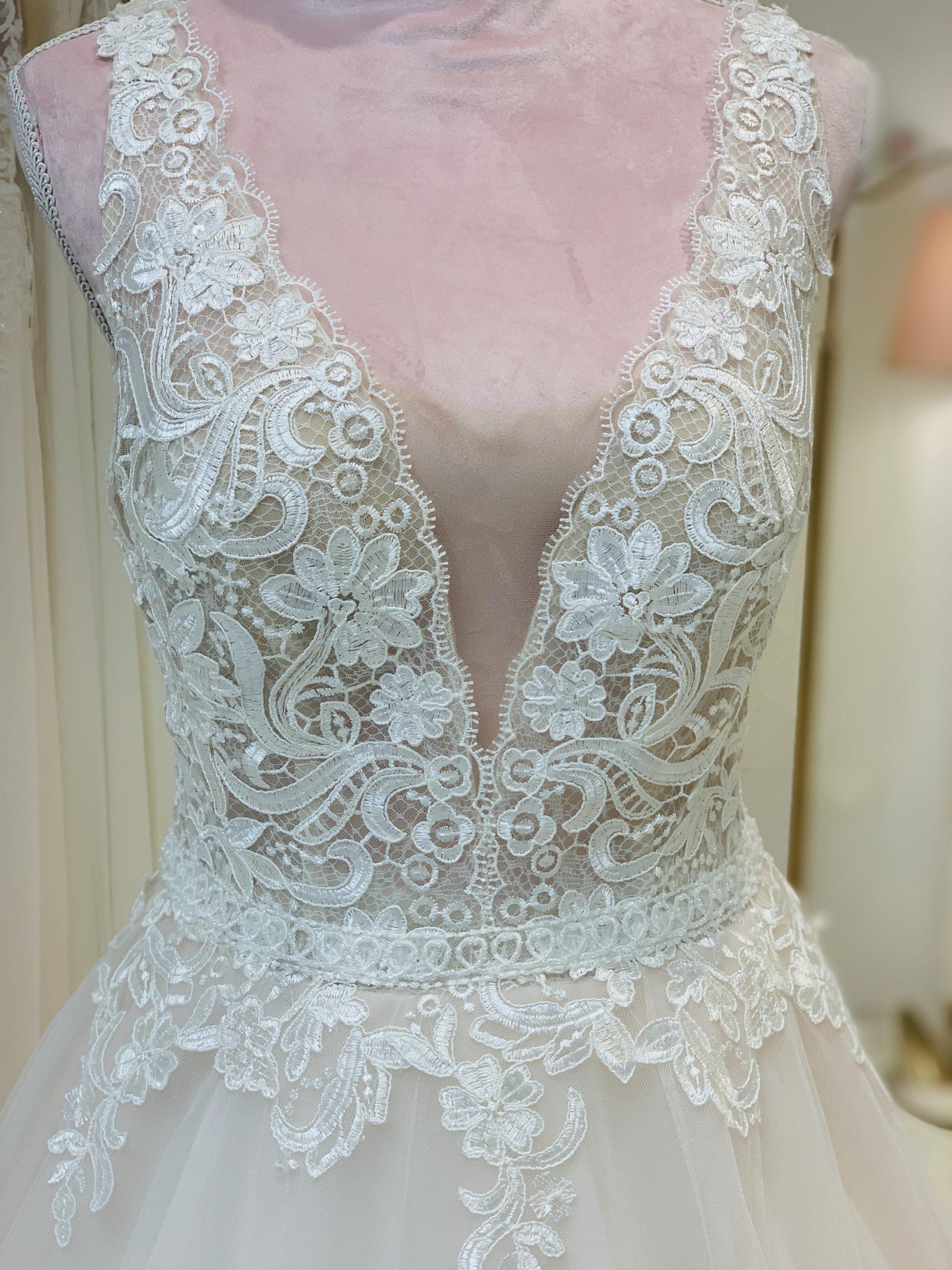 Brautkleid 2 - Oberteil