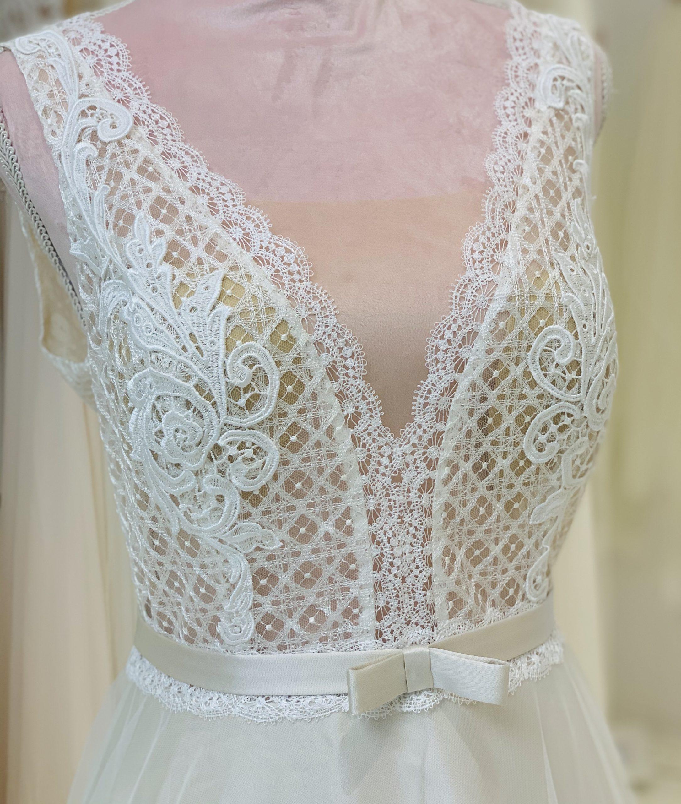 Brautkleid 22 - Oberteil