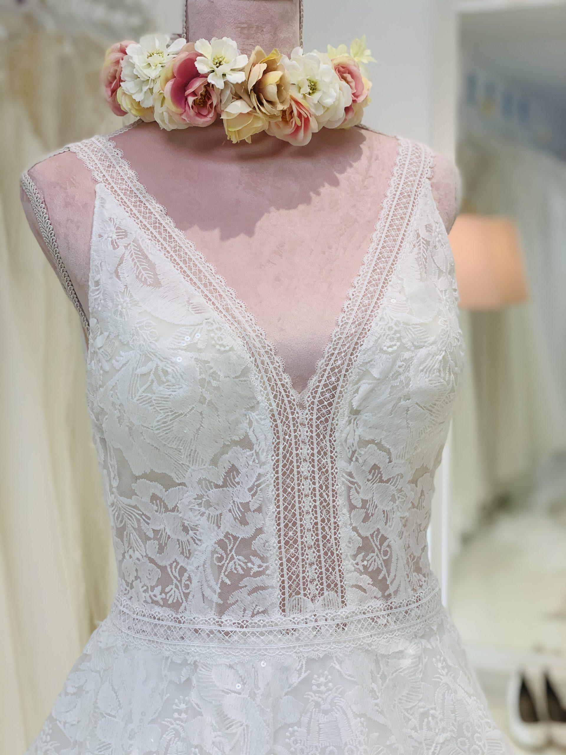 Brautkleid 25 - Oberteil