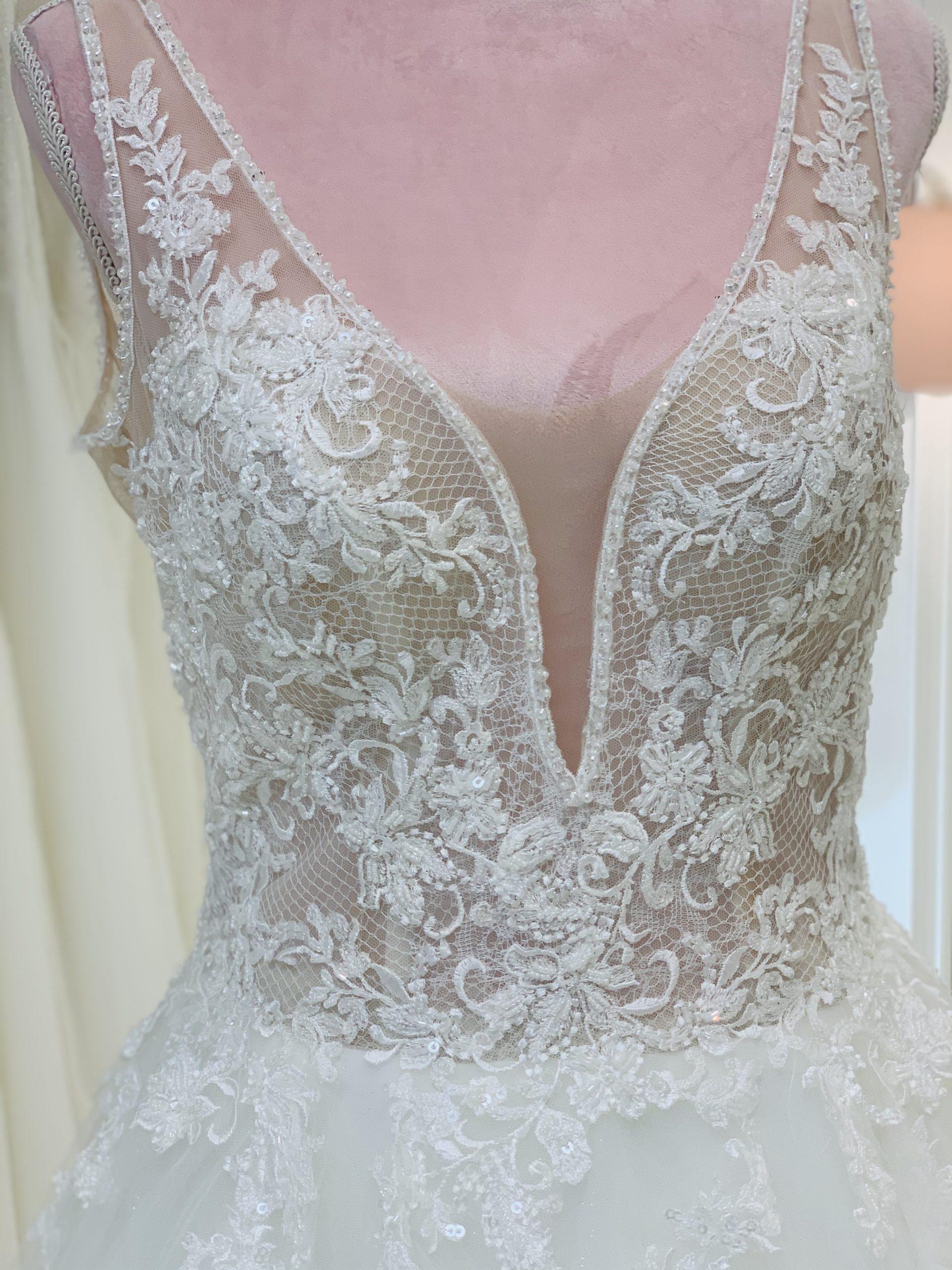 Brautkleid 3 - Oberteil