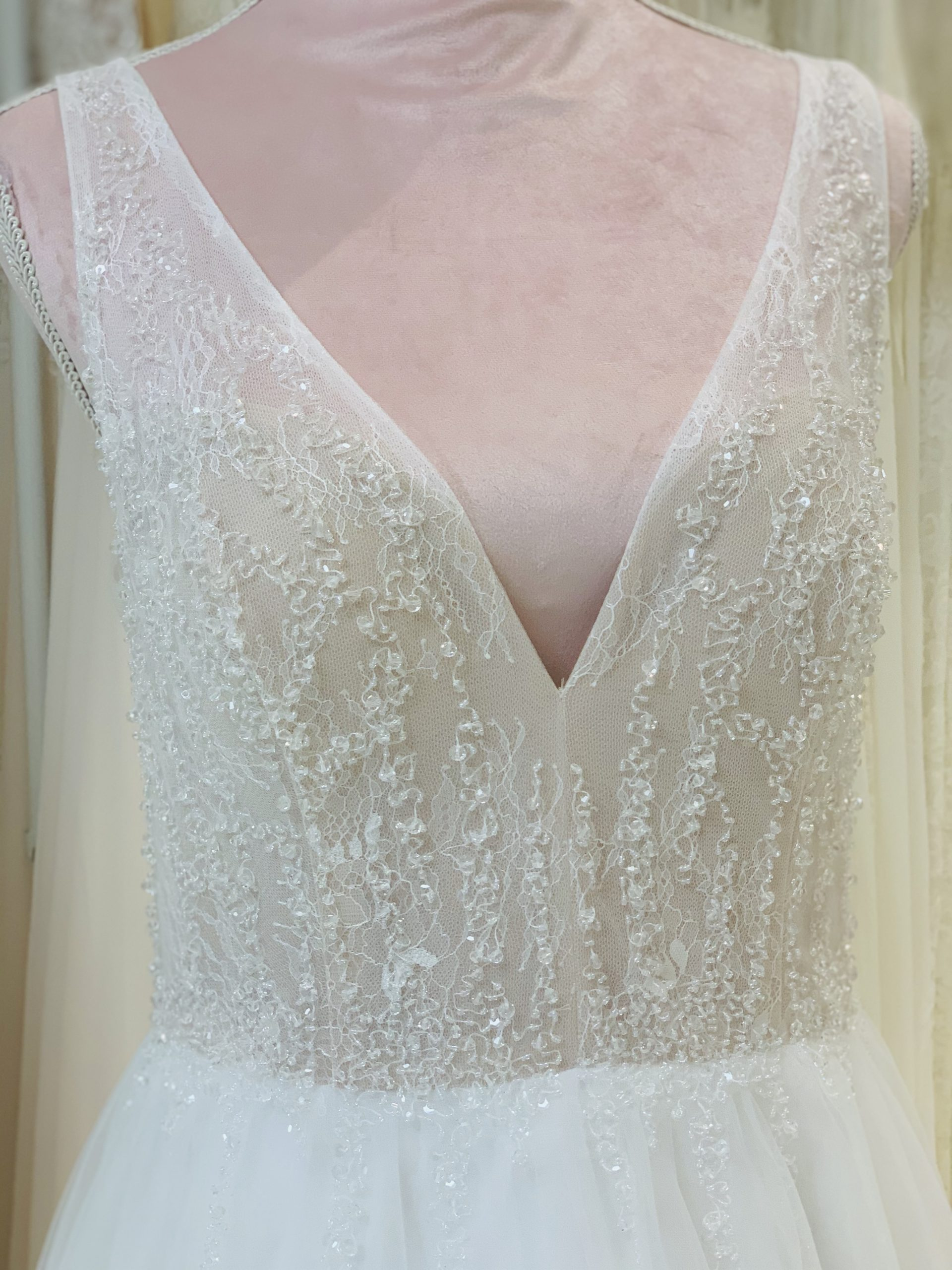 Brautkleid 31 - Oberteil