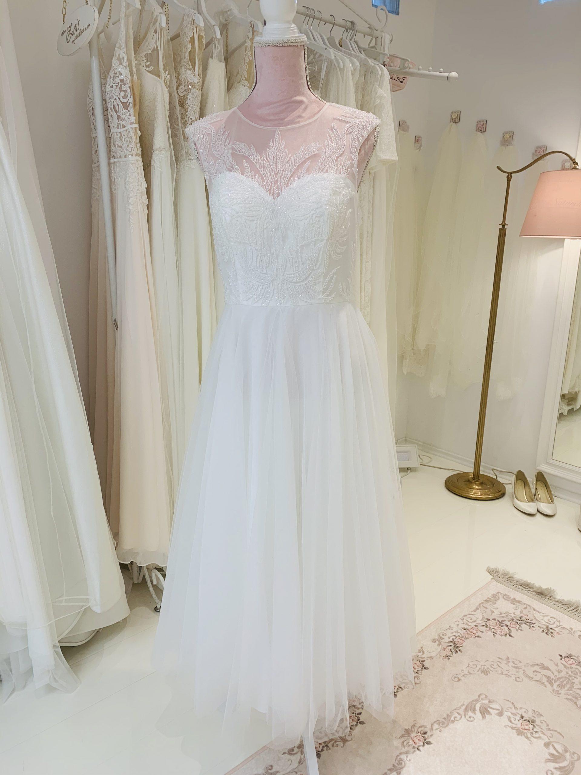 Brautkleid 36 - Vollansicht