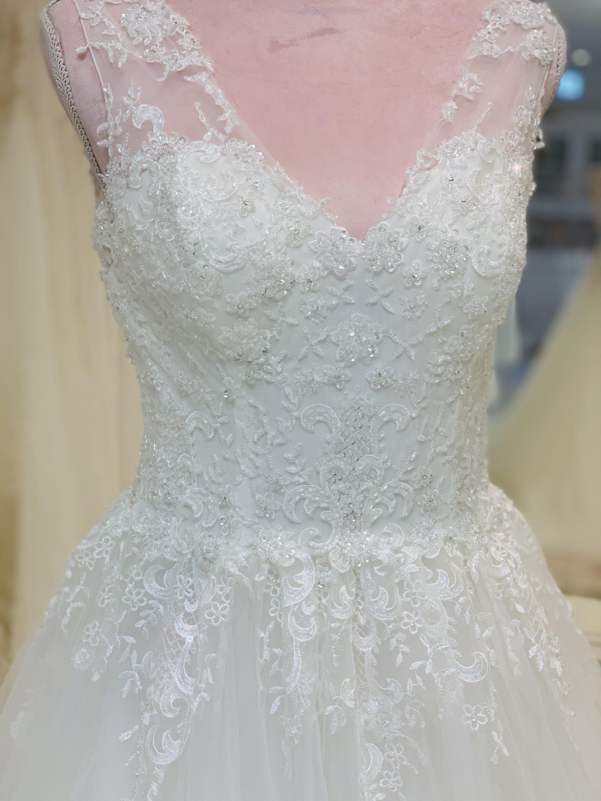 Brautkleid 7 - Oberteil