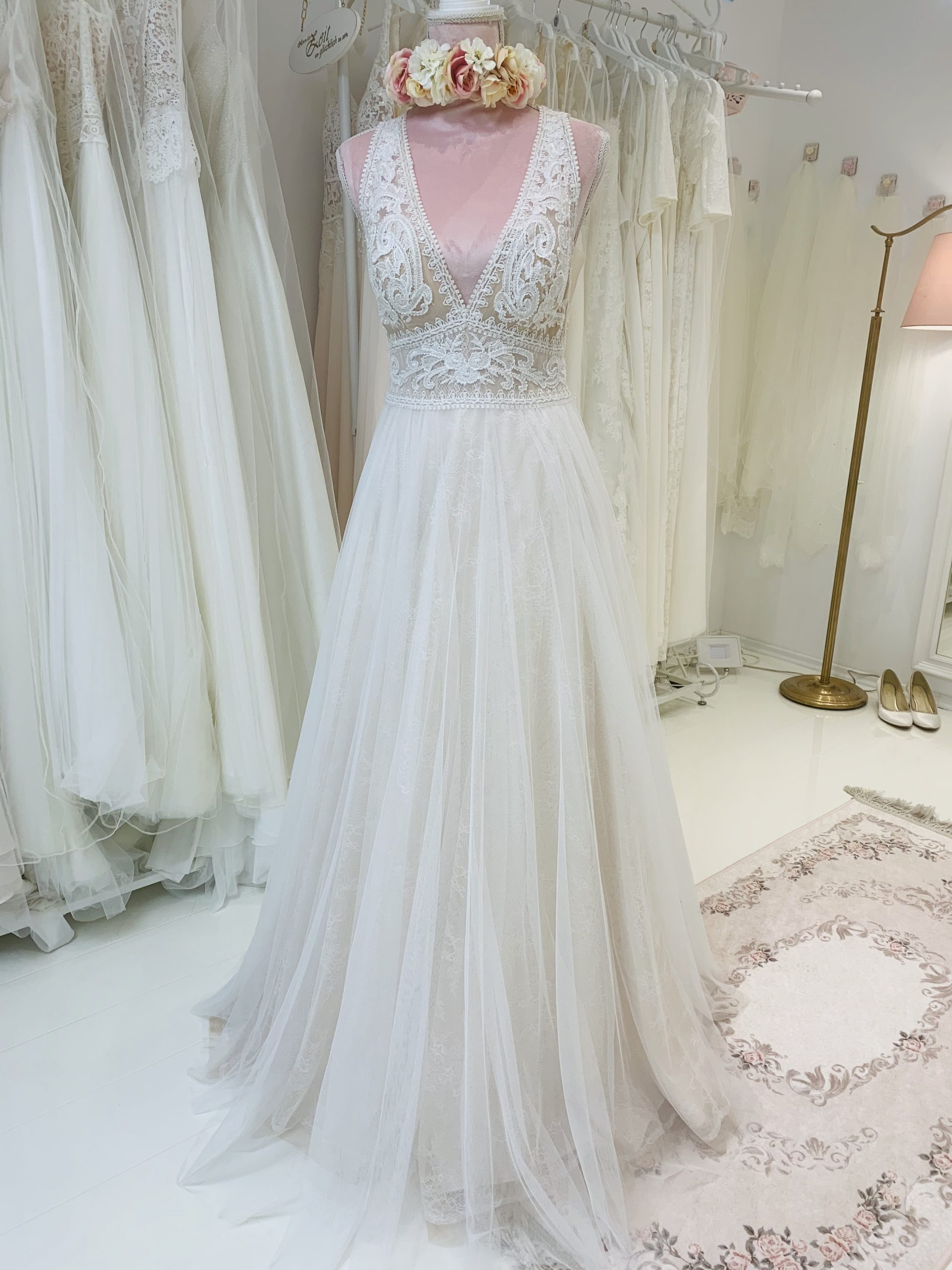 Brautkleid 98 - Vollansicht