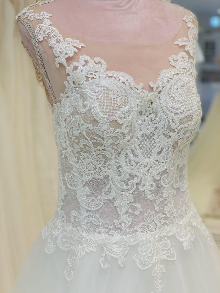 Brautkleid 6 - Oberteil